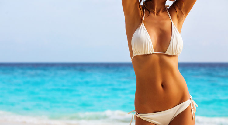 Bikini im Sommer